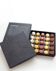 caja Cocktail Colección, con 25 mini-mousses