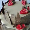 Tarta de boda fresas