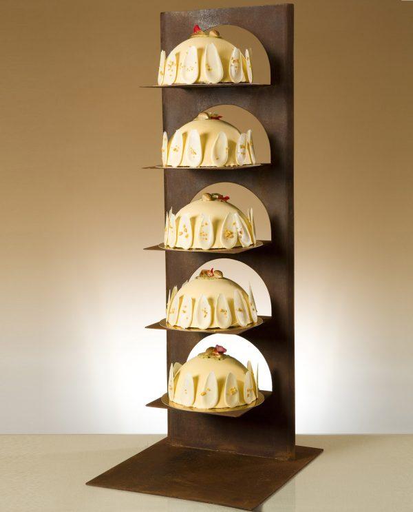 tarta de boda con soporte