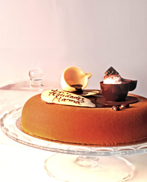 tarta-bombón para el Día de la Madre