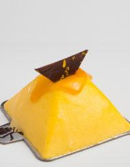 mousse caribe de mango y maracuyá