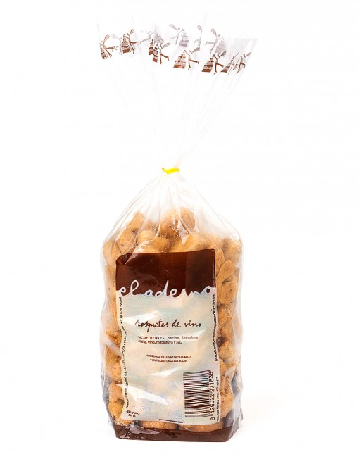 bolsa de rosquetes de vino