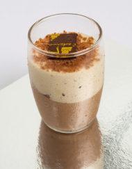 vaso de chocolate cero azúcar