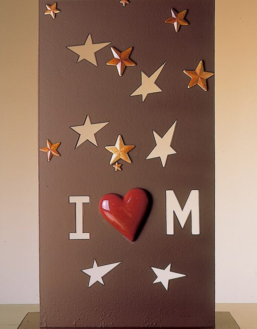 pieza artística de chocolate para boda