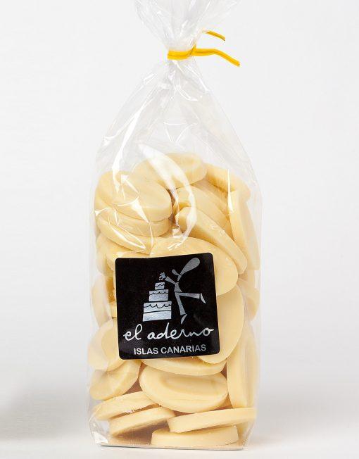chocolate blanco en piezas ivoire 33%