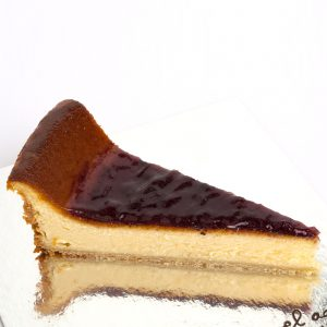 tarta de queso con arándanos
