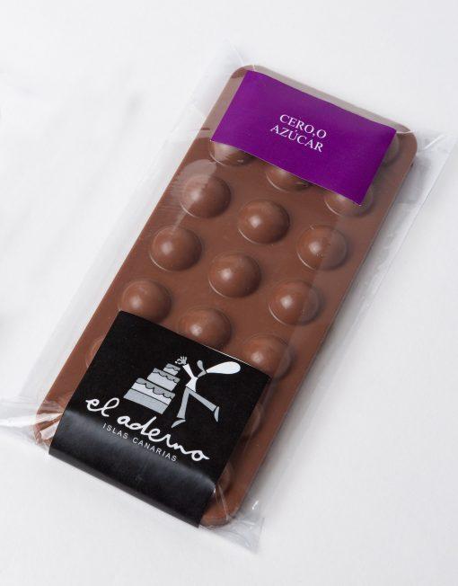 tableta de chocolate con leche sin azúcar