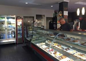 interior de El Aderno Exclusive Café en Playa de las Américas