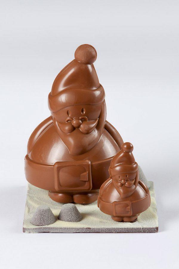 Choco Klaus Dúo de chocolate con leche El Aderno