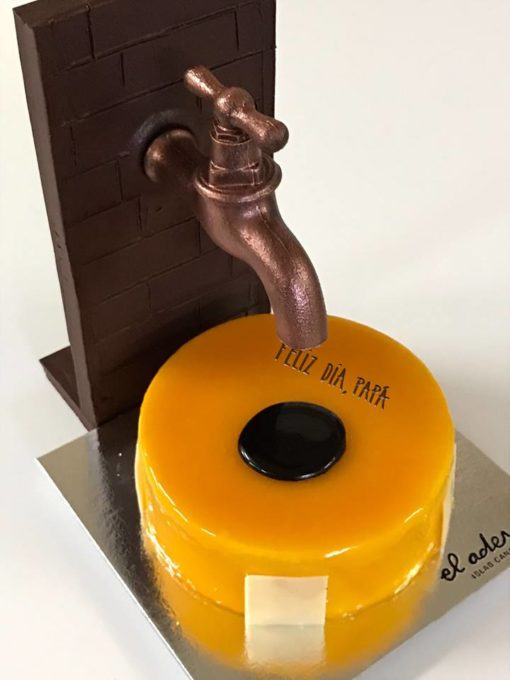 Grifo de chocolate para el Día del Padre