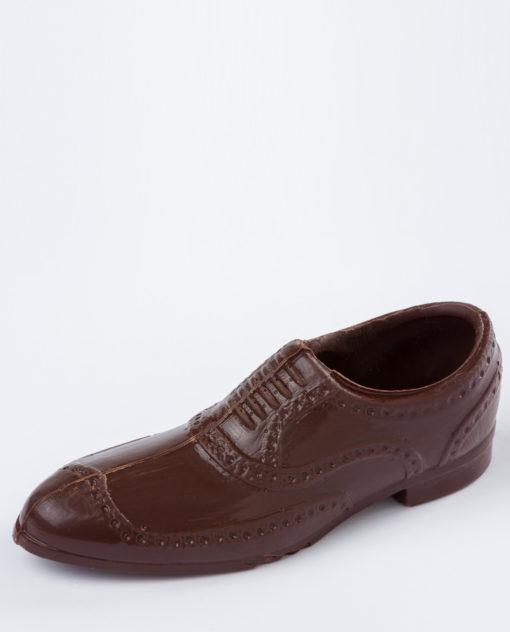 zapato del chocolate, diseñado para el Día del Padre