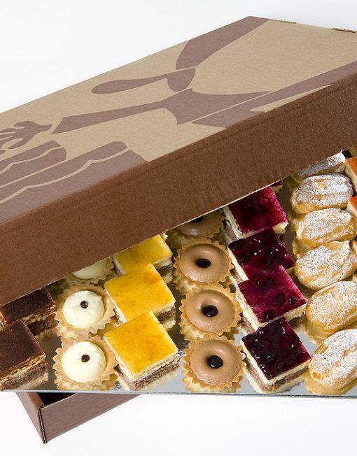 Caja de dulces de celebraciones