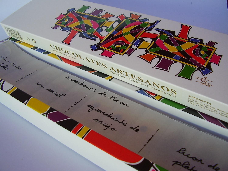 caja de bombones de autor con sergio gil