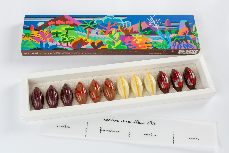 caja de bombones de autor de Carlos Matallana