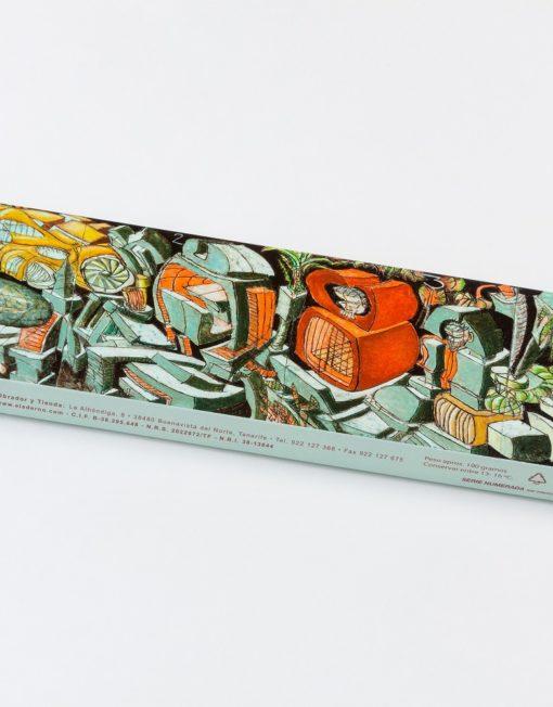 caja de bombones de autor de Ernesto Valcárcel