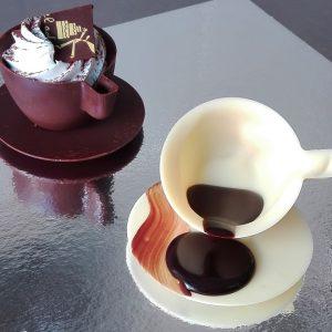 tacitas de chocolate para regalar el día de la madre
