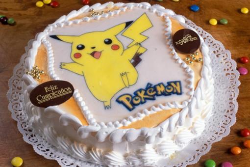 tarta cumpleaños pikachu pokemon