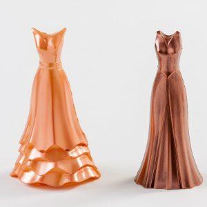 vestido de chocolate para regalar el día de la madre