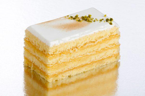 pastel de limón el aderno