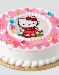 tarta infantil hello kitty