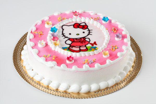 tarta infantil hello kitty