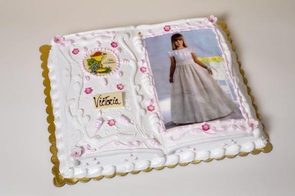tarta de comunión libre