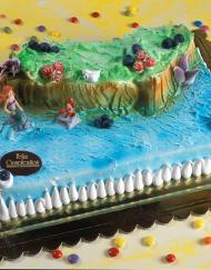 tarta infantil La Sirenita