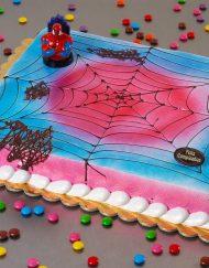 tarta infantil spiderman