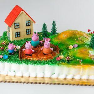 tarta infantil pepa pig