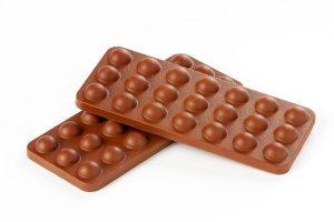 tableta de burbuja de chocolate con leche