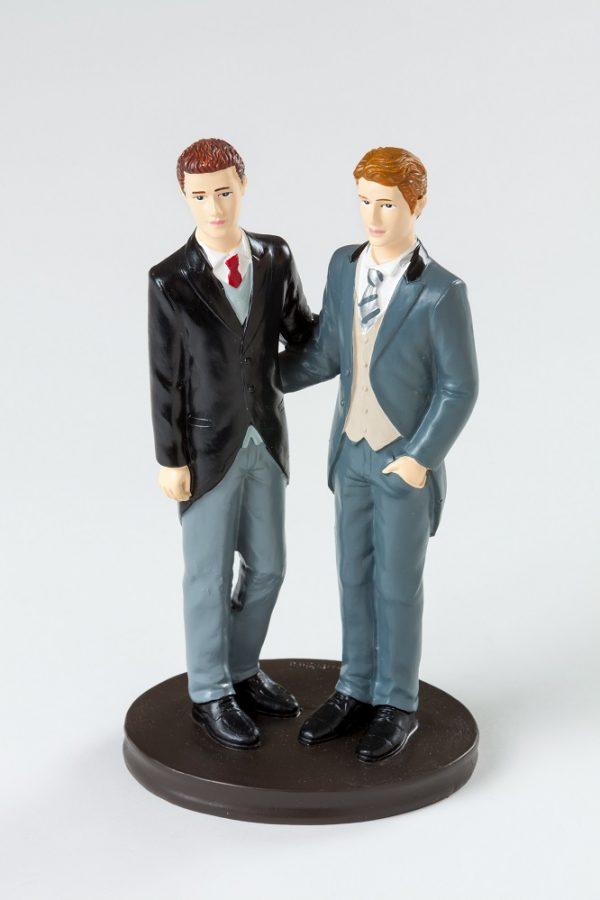 figura tarta dos chicos