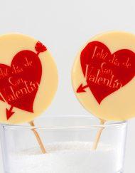 Piruleta San Valentín