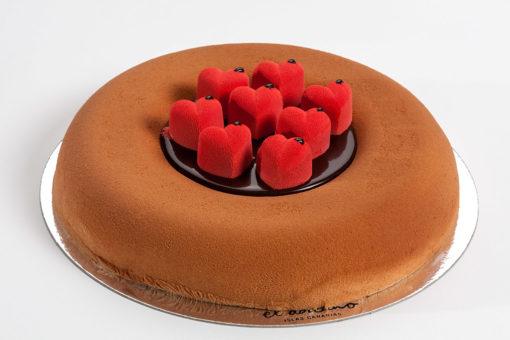 Tarta Mousse Bombón San Valentín