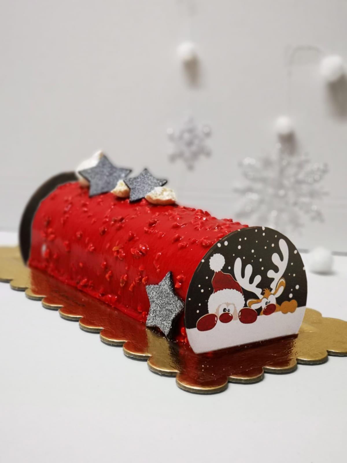 Tronco de Navidad El Aderno